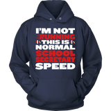 Secretary - Normal Speed - Hoodie / Navy / S - 10