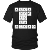 Science - Keep Calm - District Unisex Shirt / Black / S - 6