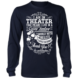 Theater - Crazy Fantasy - District Long Sleeve / Navy / S - 5