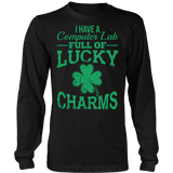 Computer - Lucky Charms - District Long Sleeve / Black / S - 7