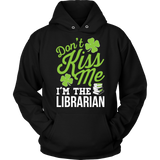 Librarian - Don't Kiss Me - Hoodie / Black / S - 7