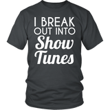 Theater - Show Tunes - District Unisex Shirt / Charcoal / S - 4