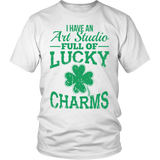 Art - Lucky Charms - District Unisex Shirt / White / S - 2