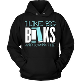 Librarian - Big Books - Hoodie / Black / S - 9
