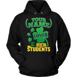 Teacher - St. Patrick's Day Students - Hoodie / Black / S - 9
