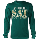 SAT Boot Camp - District Long Sleeve / Dark Green / S - 6
