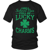School Bus Driver - Lucky Charms - District Unisex Shirt / Black / S - 4