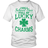 School Bus Driver - Lucky Charms - District Unisex Shirt / White / S - 2