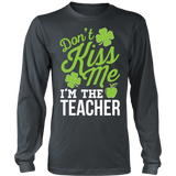 Teacher - Don't Kiss Me - District Long Sleeve / Charcoal / S - 5