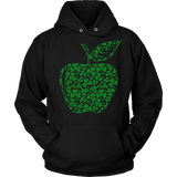 Teacher - Apple Clovers - Broken - Hoodie / Black / S - 8