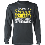 Secretary - Superpower - District Long Sleeve / Charcoal / S - 7