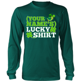 Teacher - Lucky Shirt - District Long Sleeve / Dark Green / S - 6