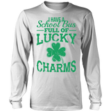 School Bus Driver - Lucky Charms - District Long Sleeve / White / S - 5