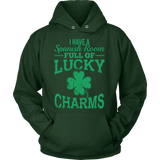 Spanish - Lucky Charms - Hoodie / Dark Green / S - 9