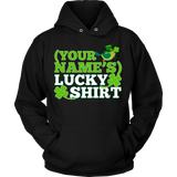Teacher - Lucky Shirt - Hoodie / Black / S - 8