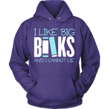 Librarian - Big Books - Hoodie / Purple / S - 1