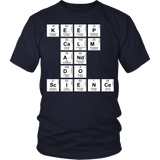 Science - Keep Calm - District Unisex Shirt / Navy / S - 5