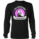 Theater - Not For The Weak Mom - District Long Sleeve / Black / S - 7
