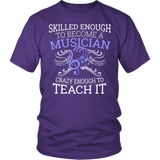 Orchestra - Skilled Enough - District Unisex Shirt / Purple / S - 3