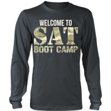 SAT Boot Camp - District Long Sleeve / Charcoal / S - 7