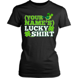 Teacher - Lucky Shirt - District Made Womens Shirt / Black / S - 10