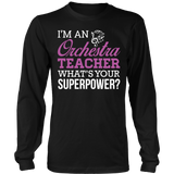Orchestra - Superpower - District Long Sleeve / Black / S - 8