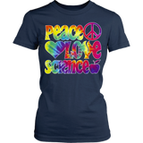 Science - Peace Love - Kids - District Juniors Shirt / Navy / S - 5