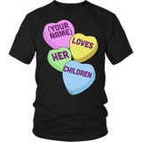Teacher - Candy Hearts Children - District Unisex Shirt / Black / S - 5