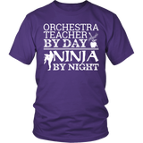 Orchestra - Teacher By Day - District Unisex Shirt / Purple / S - 2