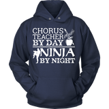 Chorus - Teacher By Day - Hoodie / Navy / S - 9