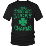 Spanish - Lucky Charms - District Unisex Shirt / Black / S - 4