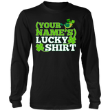 Teacher - Lucky Shirt - District Long Sleeve / Black / S - 7