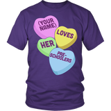 Preschool - Candy HeartsT-shirt - Keep It School - 4