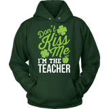 Teacher - Don't Kiss Me - Hoodie / Dark Green / S - 9