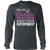 Orchestra - Superpower - District Long Sleeve / Charcoal / S - 7