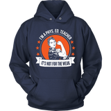 Phys Ed - Not For The Weak - Hoodie / Navy / S - 10