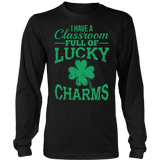 Teacher - Lucky Charms - District Long Sleeve / Black / S - 7