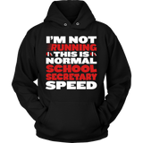 Secretary - Normal Speed - Hoodie / Black / S - 9