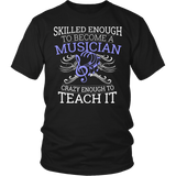 Orchestra - Skilled Enough - District Unisex Shirt / Black / S - 5