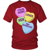 Preschool - Candy HeartsT-shirt - Keep It School - 3