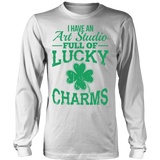 Art - Lucky Charms - District Long Sleeve / White / S - 5