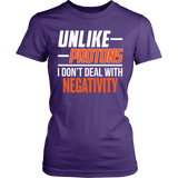 Science - Unlike Protons - District Made Womens Shirt / Purple / S - 10