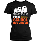 School Bus Driver - Halloween GhostT-shirt - Keep It School - 5
