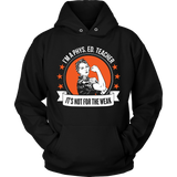 Phys Ed - Not For The Weak - Hoodie / Black / S - 9