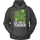 Teacher - Don't Kiss Me - Hoodie / Charcoal / S - 8