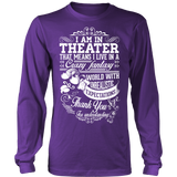 Theater - Crazy Fantasy - District Long Sleeve / Purple / S - 4