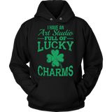 Art - Lucky Charms - Hoodie / Black / S - 8