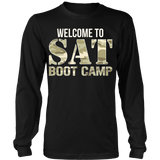 SAT Boot Camp - District Long Sleeve / Black / S - 8