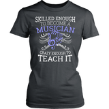Orchestra - Skilled Enough - District Made Womens Shirt / Charcoal / S - 12