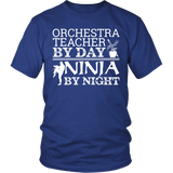 Orchestra - Teacher By Day - District Unisex Shirt / Royal Blue / S - 1